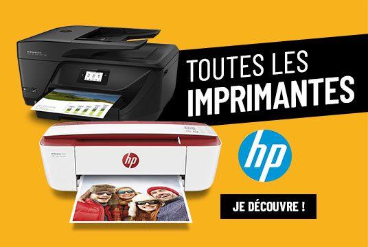 Toutes les imprimantes HP