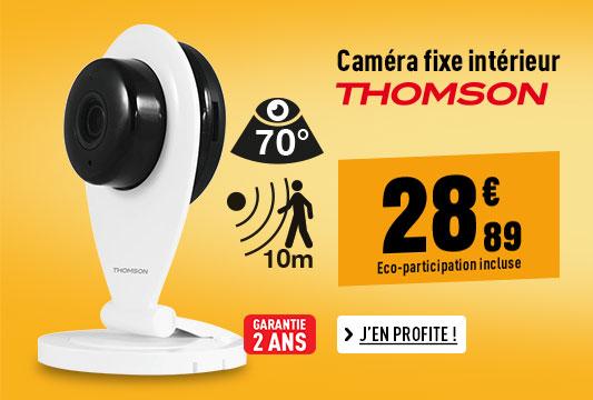 CAMERA THOMSON INTERIEURE FIXE WIFI 720P
