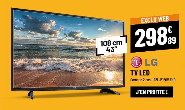 TV LED LG 43LJ5150V FHD