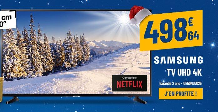 TV UHD 4K SAMSUNG UE50NU7025 Smart HDR