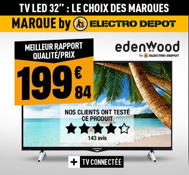 TV LED EDENWOOD ED3204HD CONNECTEE