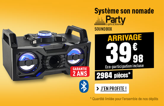 Enceinte Amplifiée PARTY SOUNDBOX