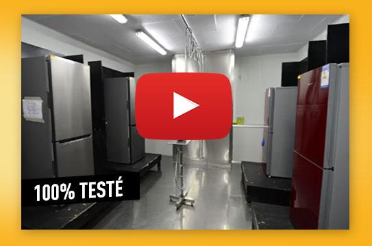 Test qualité réfrigérateur