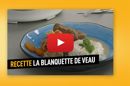 Le recette de la blanquette de veau avec le cookeo moulinex