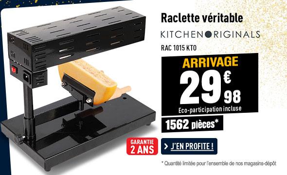 Raclette KALORIK traditionnelle TKG RAC