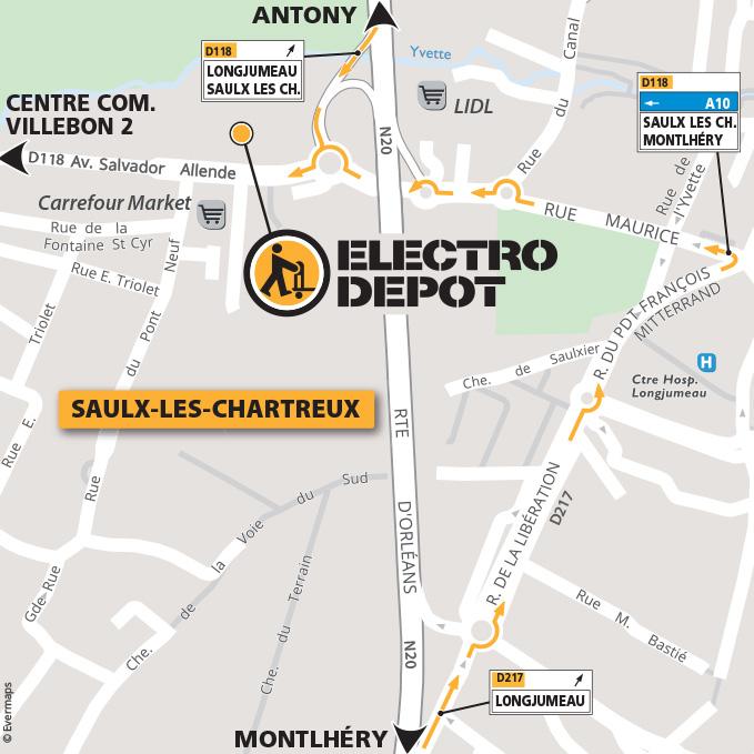 Magasin Electro Menager Saulx Les Chartreux Essonne Electro Depot