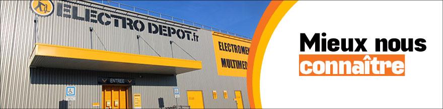 Magasin à Thiais - Ile-de-France - France - Electro Dépôt