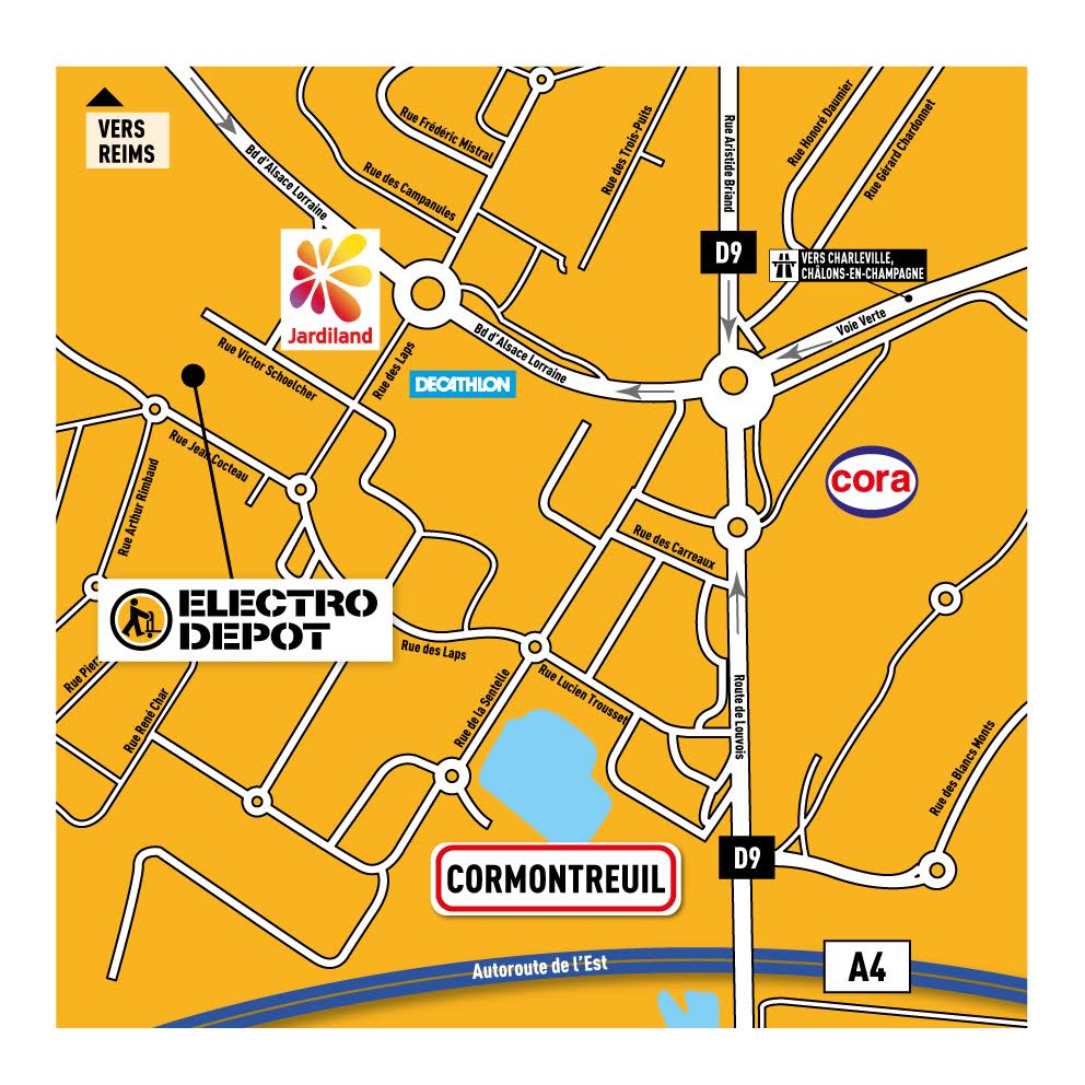 Magasin lectro m nager reims cormontreuil electro d p t - Horaire electro depot reims ...