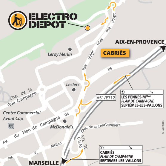 Magasin Electro Menager Plan De Campagne Cabries Bouches Du